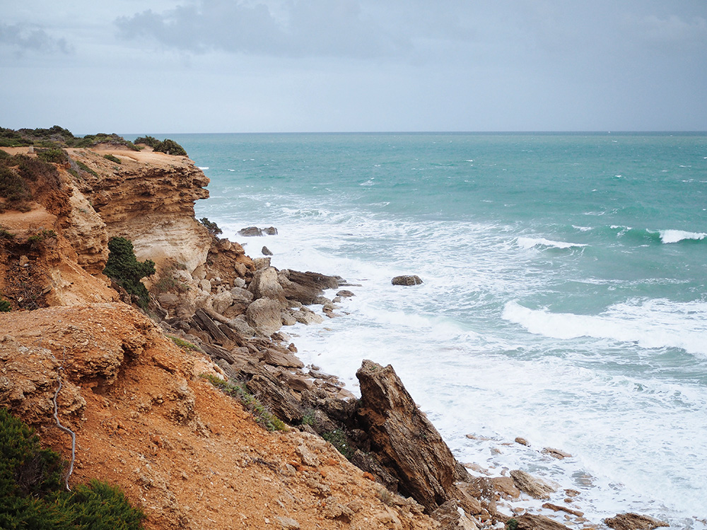 Costa de la Luz в пасмурную погоду