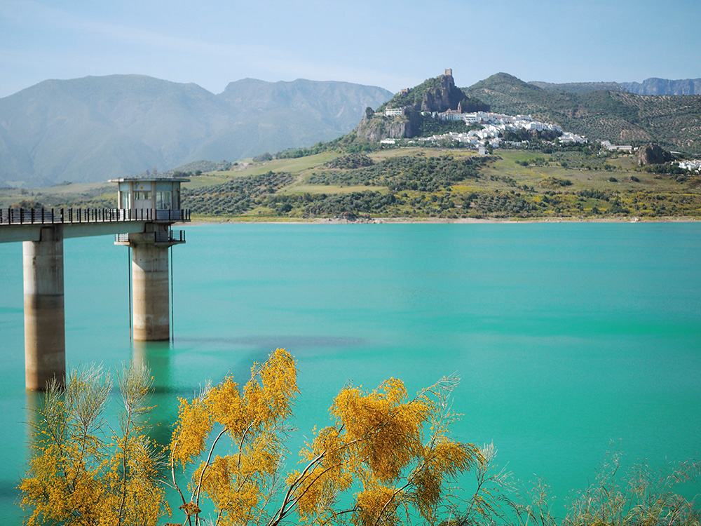 Водохранилище Zahara del Gastor
