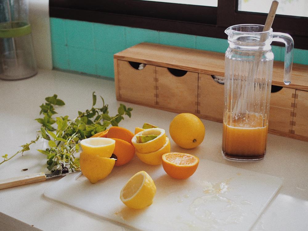Рецепт домашнего лимонада, Блог Марины Гиллер