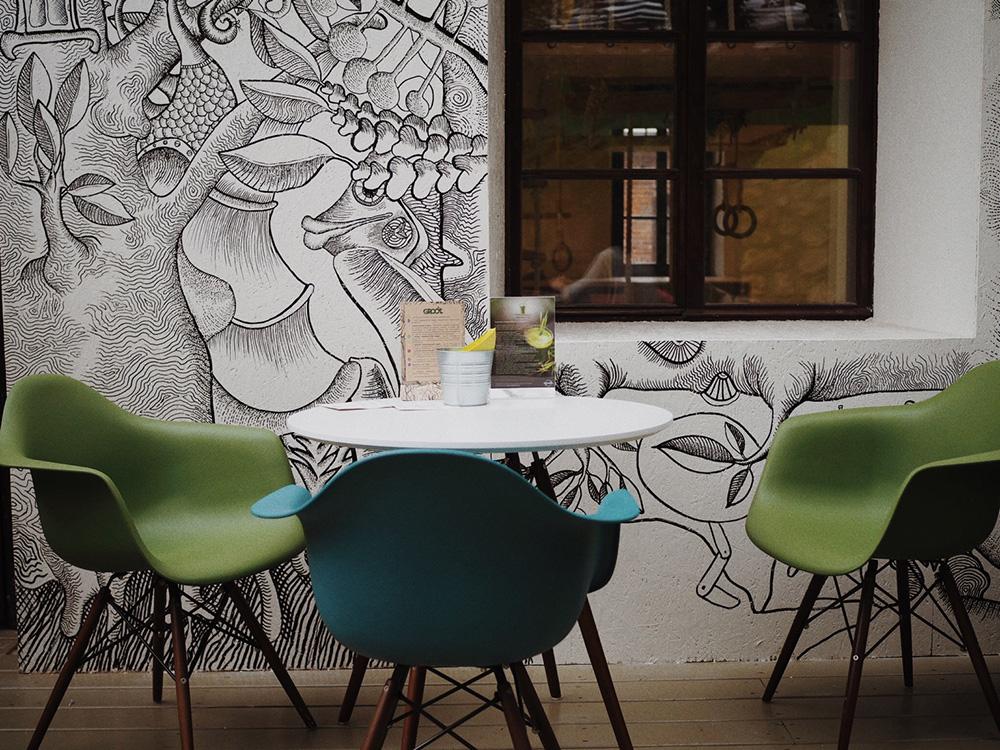 Кафе Groot, Москва, Блог Марины Гиллер
