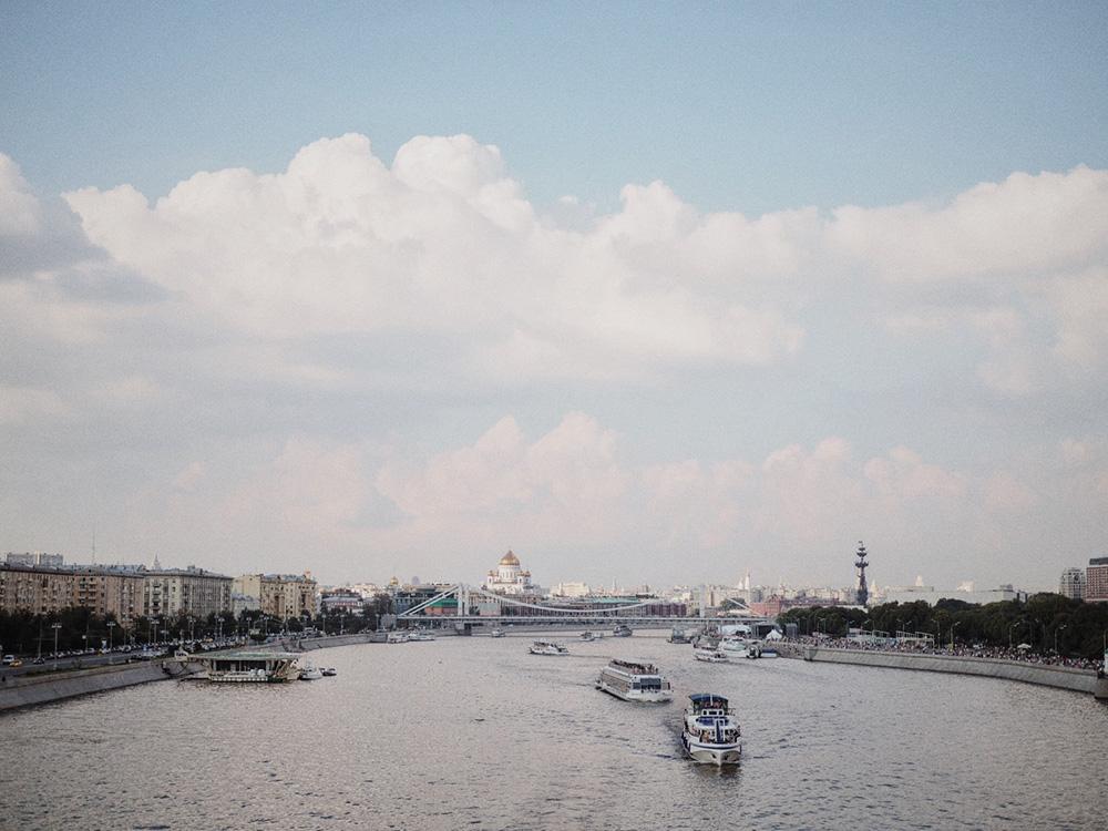 Москва в августе, Блог Марины Гиллер
