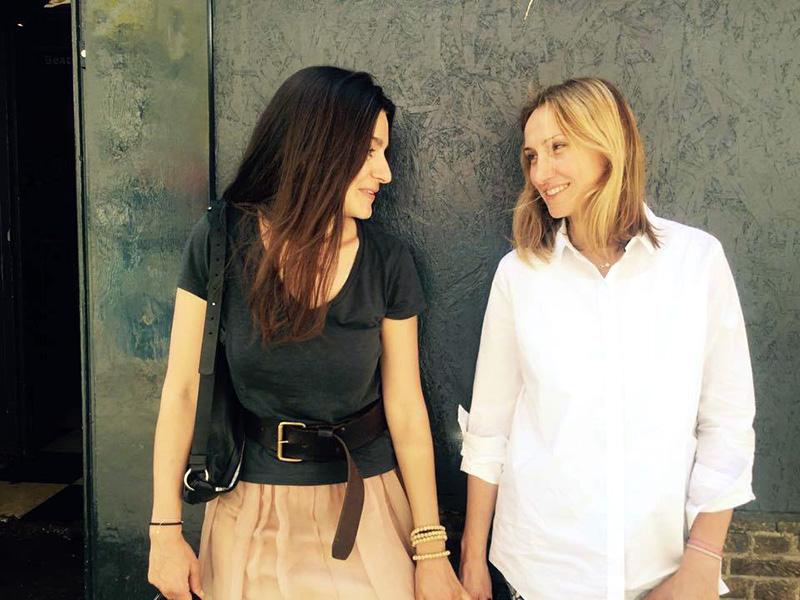 Женя Казарновская и Алина Игнатьева, интервью в блоге Марины Гиллер